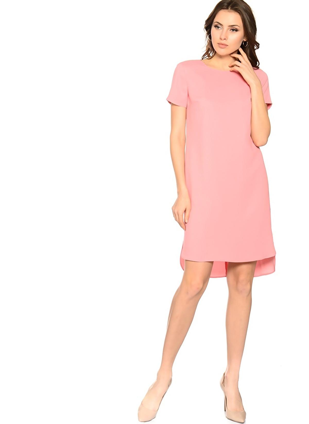 House Of Camellia Elbise 71ata Hoce014 Hc Elbise Pembe – 42.74 TL
